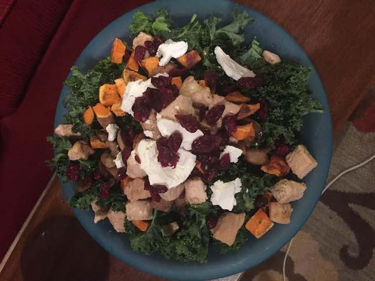 Emily Burkhardt favorite salad