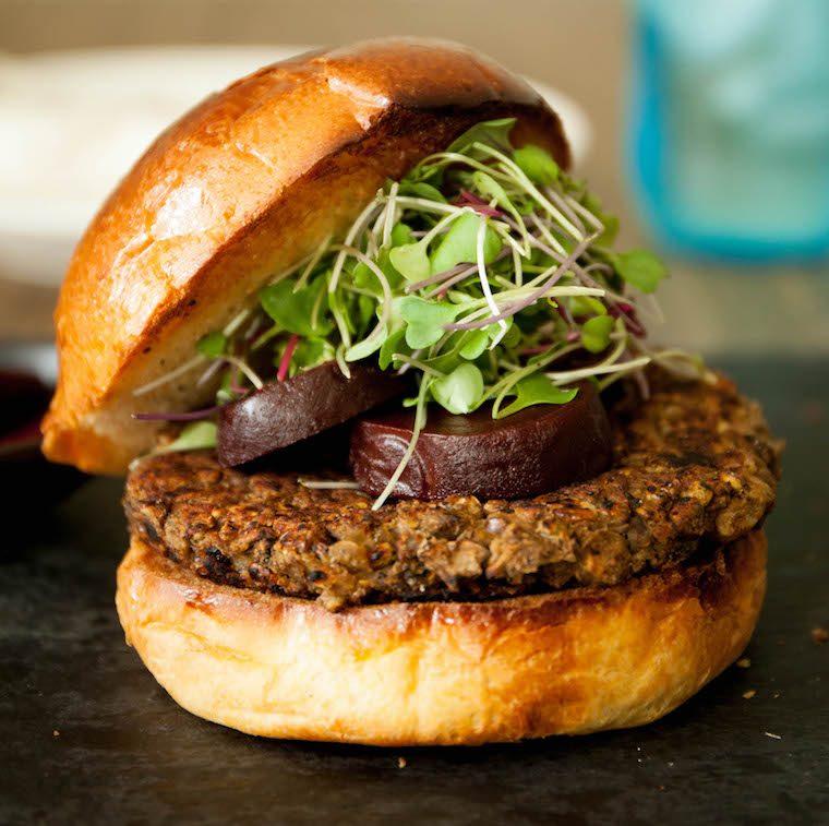 veggie burger sample 1