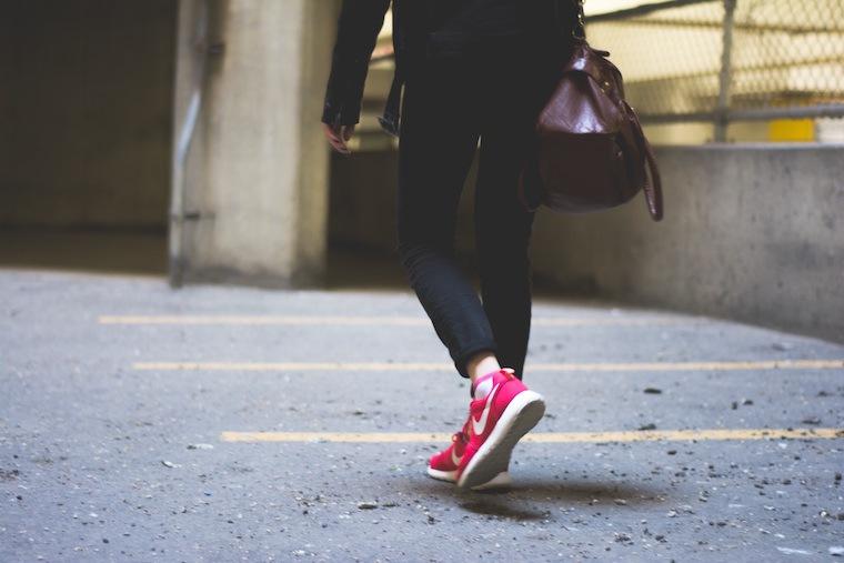 walking slow down