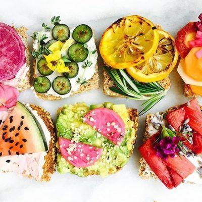 Toast-filled Tuesdays are the bomb-dot-com. #regramlove @vibrantandpure #iamwellandgood