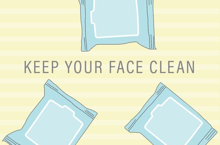 face clean
