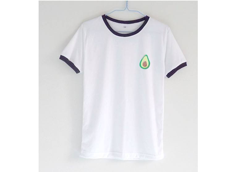 Avocado_Ringer-Tee_White