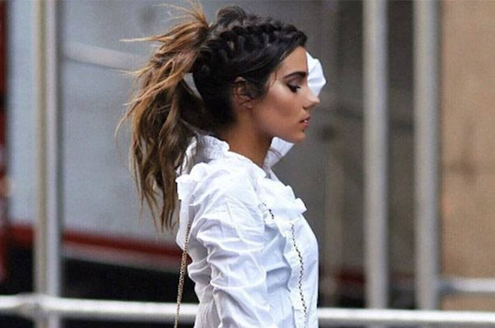 How to wear fall's hottest hairstyle: the braided ponytail