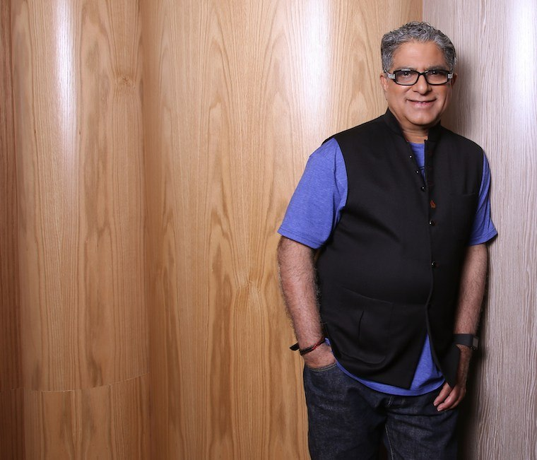 Deepak Chopra launches a digital wellness platform