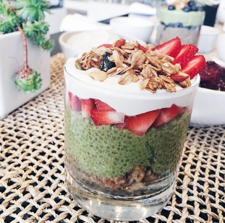 Thumbnail for This matcha chia pudding recipe is what a.m. dreams are made of