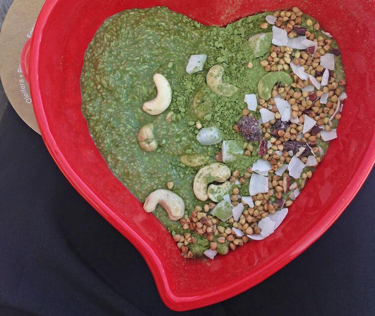 Matcha-chia-pudding