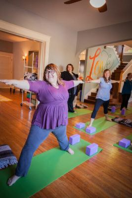 Photo: Curvy Yoga