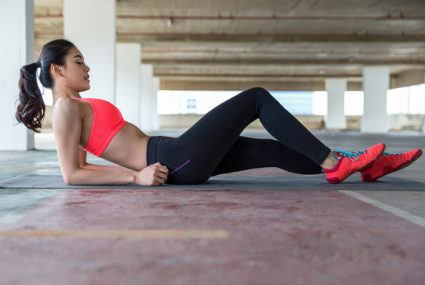 Try this ab-tastic bodyweight outdoor workout
