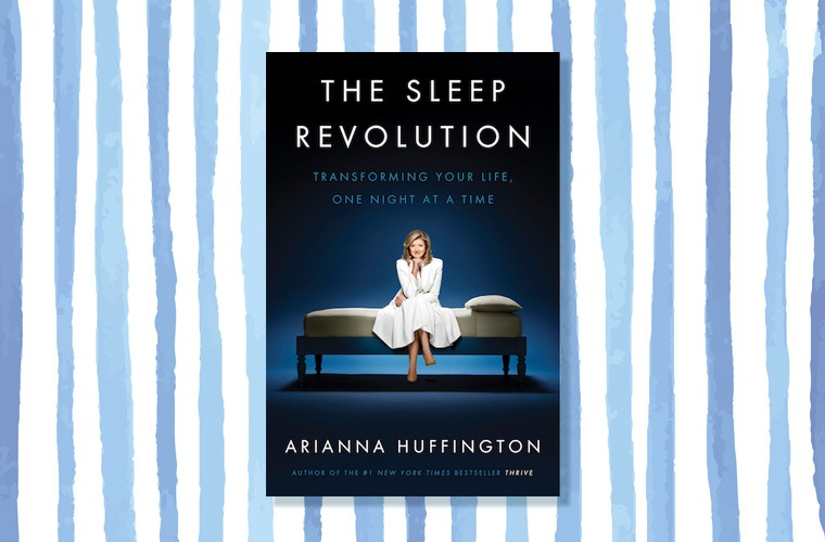 sleep revolution huffington book