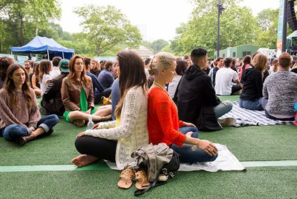The Big Quiet is drawing thousands to Central Park Summerstage
