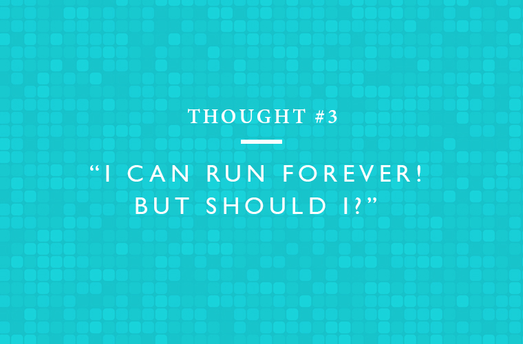 running thought