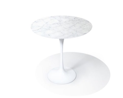 Tulip Table_Side_Carrara1