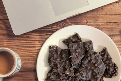 The argument for a 3 p.m. (dark) chocolate snack
