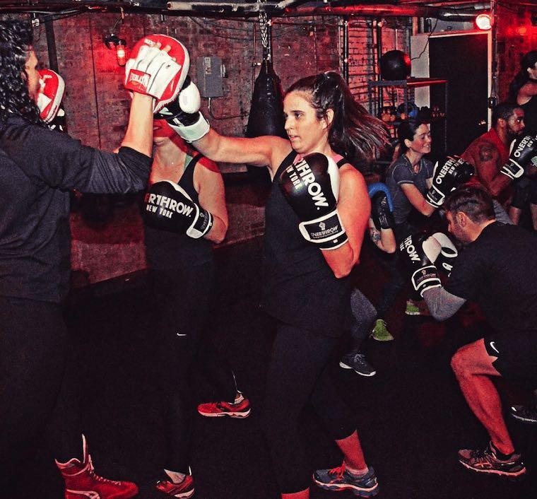 boxing overthrow nyc