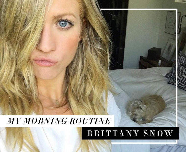 Thumbnail for Brittany Snow's a.M. Happiness Hack Is Pretty Awesome