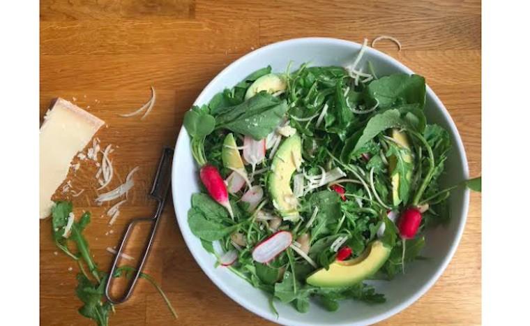 Candice Kumai salad