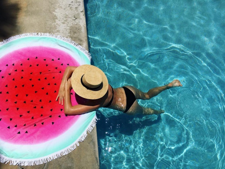 cotton-on-watermelon-towel