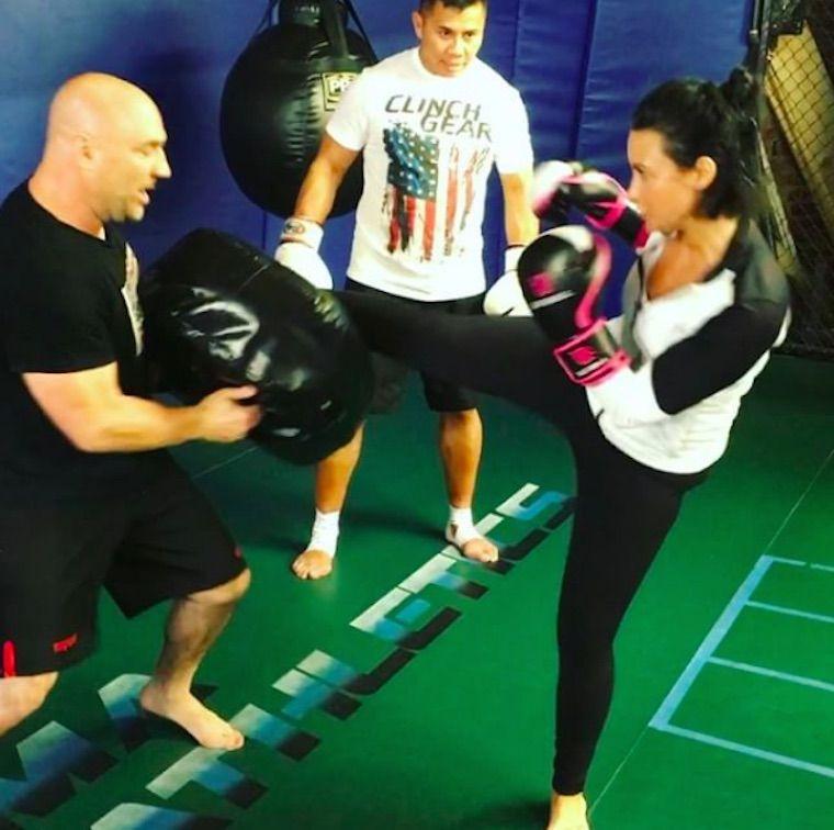 demi lovato kickboxing fitness