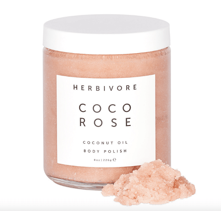 herbivore coco rose body scrub