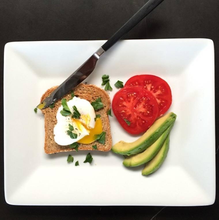 jennifer aniston breakfast