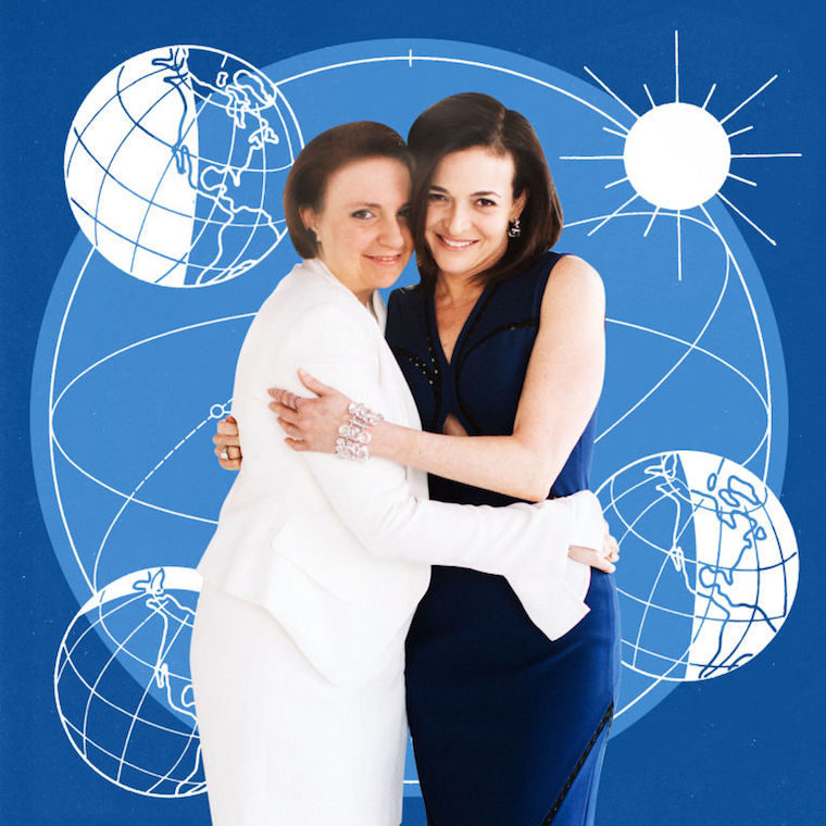 Thumbnail for 6 ways to #LeanInTogether, according Lena Dunham and Sheryl Sandberg