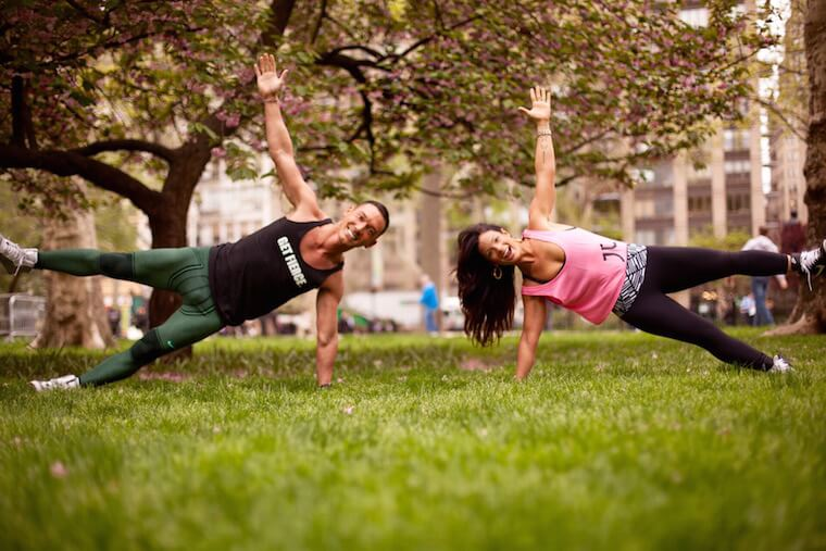 outdoor fitness NYC