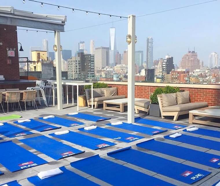 Best Outdoor Yoga And Fitness Classes In NYC