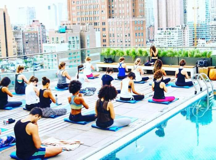 Best Outdoor Yoga And Fitness Classes In Nyc Well Good