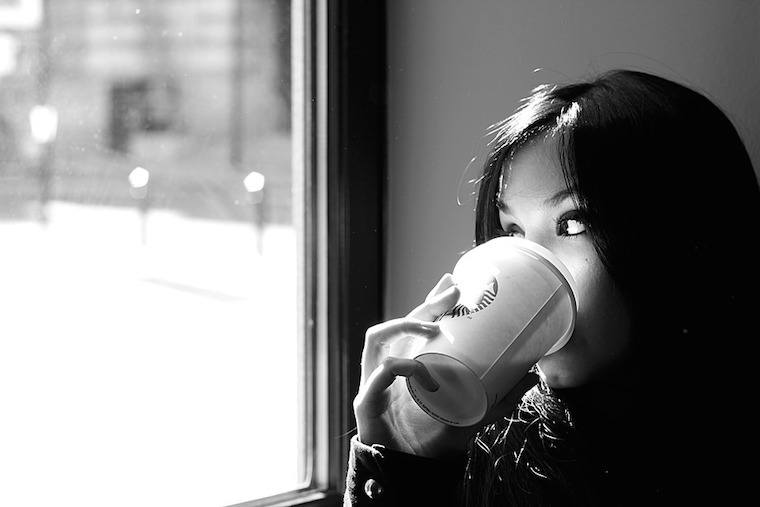 woman-coffee