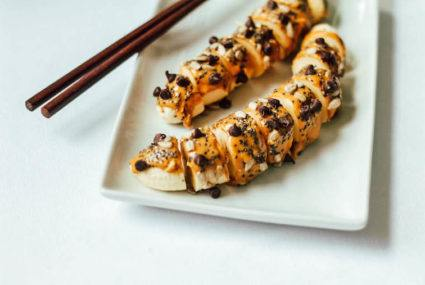 Banana sushi takes healthy snacking to a whole new (delicious) level
