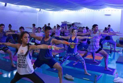 Why yoga studios are the new epicenter of LA's sweaty social scene