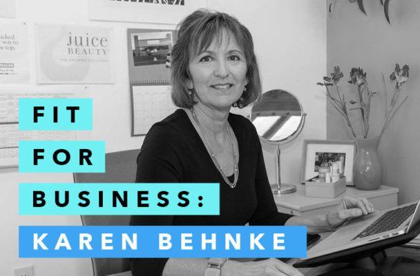 How Juice Beauty's Karen Behnke radically transformed the chemistry of beauty
