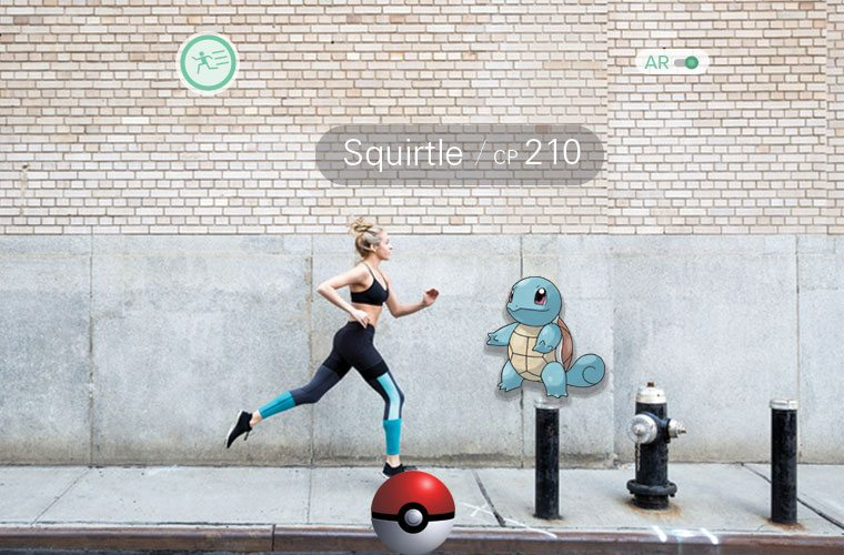 pokémon go running