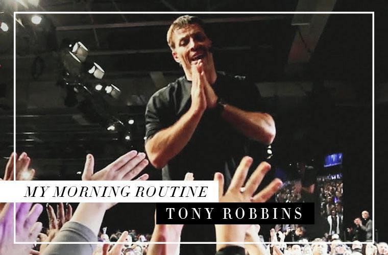 Tony Robbins Netflix documentary and Priming Morning Routine