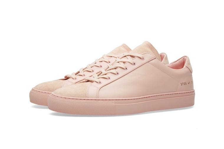 The pink sneaker trend is growing