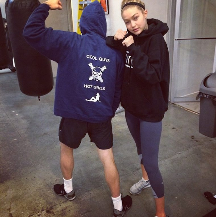 Thumbnail for The badass boxing workout Gigi Hadid swears by