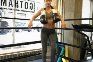 It's official: Fashion models can't get enough of boxing