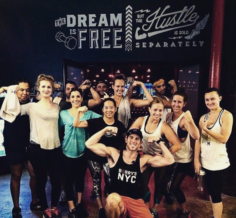 matt nolan barry's bootcamp