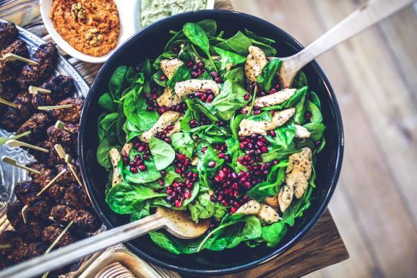 Why your lunch salad might be the key to happiness