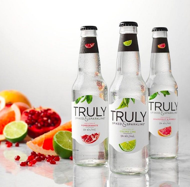 truly spiked and sparkling