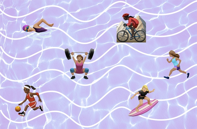 Thumbnail for Female-Friendly Fitness Emojis Are (Finally) Coming