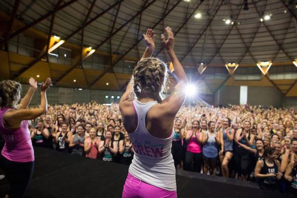 Thumbnail for The Plus Factor: Stadium-size workouts are the new rock shows