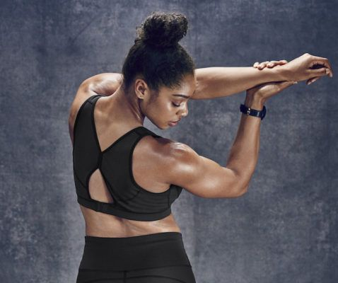 "Athleta's new fabric takes aim at ""pinch points"" that hold you back"