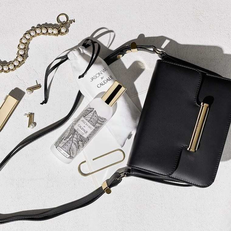 The Jason Wu for Caudalie Beauty Elixir and the Wu Diane Bag. Photo: Caudalie