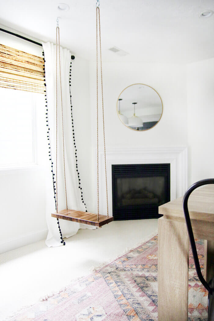 Thumbnail for 9 spaces that prove you need a Zen-chic swing in your apartment