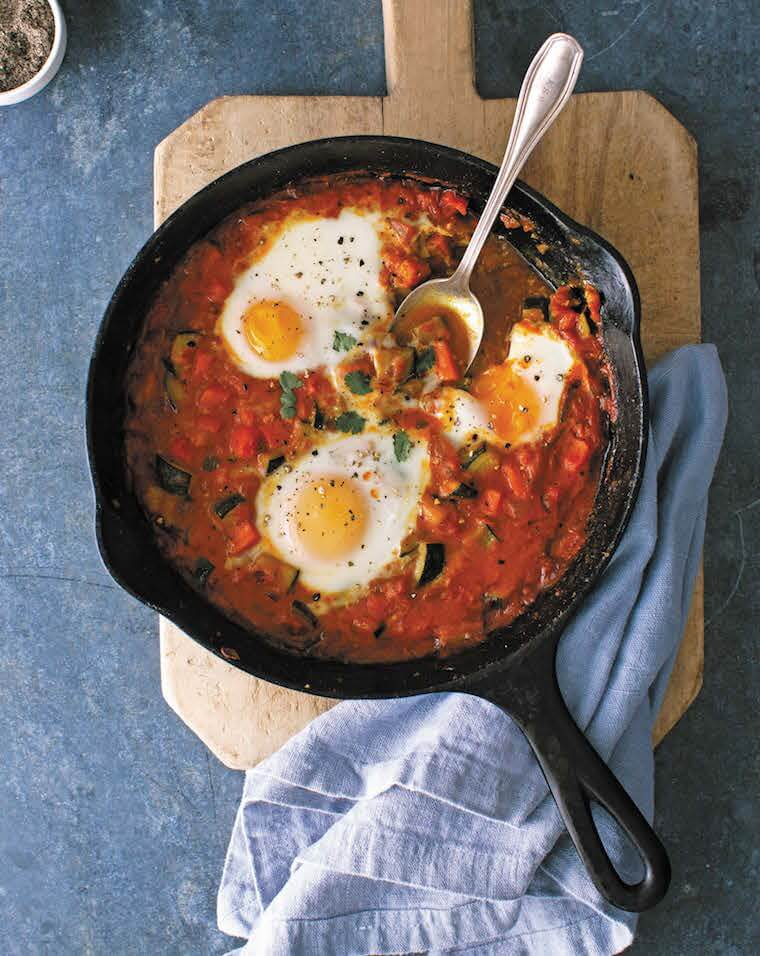 Coconut Curry Eggs