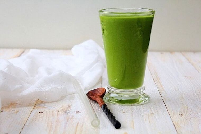 fruit free green smoothie