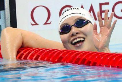 This Olympic swimmer is our new menstrual hero