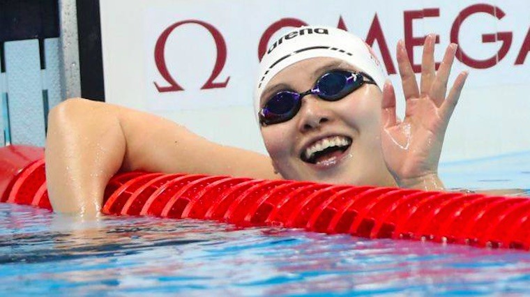 Thumbnail for This Olympic swimmer is our new menstrual hero