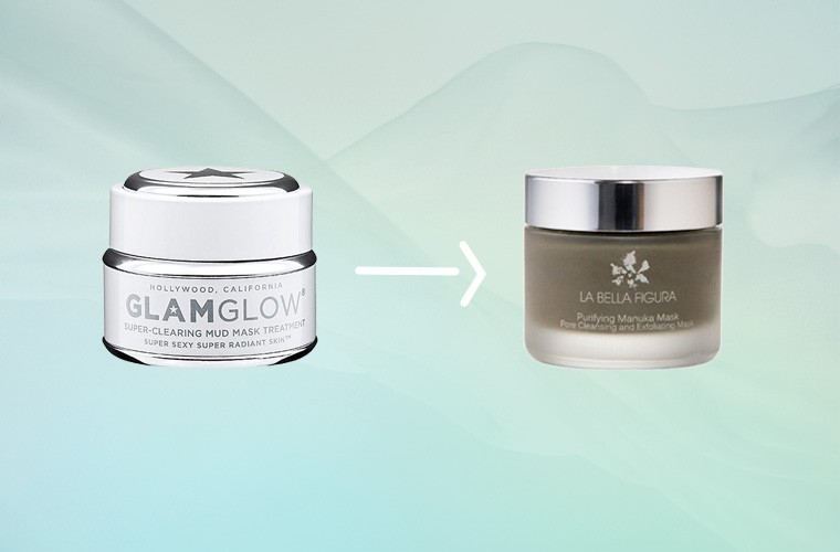 glamglow supermud bella figura purifying manuka mask